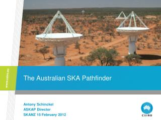 The Australian SKA Pathfinder