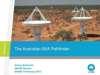 The Australian SKA Pathfinder