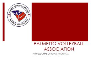 PALMETTO VOLLEYBALL ASSOCIATION