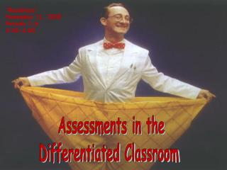 Assessments in the Differentiated Classroom