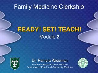 READY! SET! TEACH!