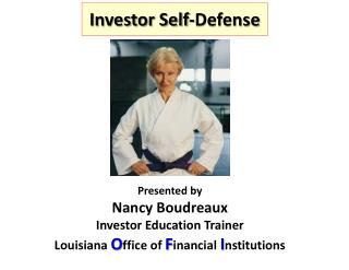 Investor Self-Defense