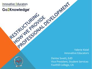 Development  24/7:  Restructuring  How  We  PROVIDE PROFESSIONAL DEVELOPMENT