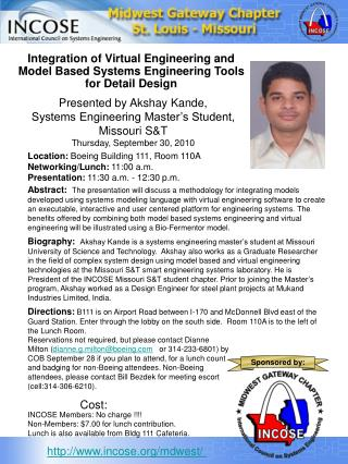 Integration of Virtual Engineering and Model Based Systems Engineering Tools for Detail Design