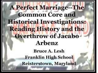 Bruce A.  Lesh Franklin High School Reisterstown, Maryland