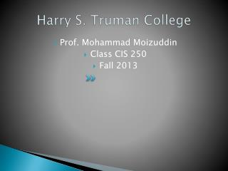Harry S. Truman College