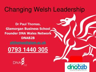 Changing Welsh Leadership