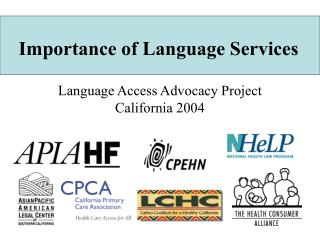 Importance of Language Services