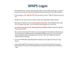 WNPS Logos