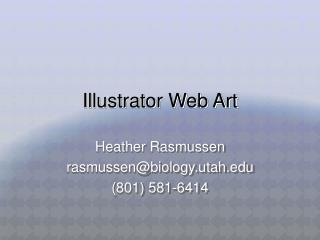 Illustrator Web Art