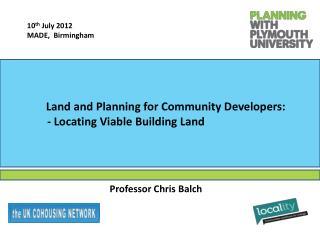 Professor Chris Balch