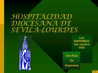 HOSPITALIDAD DIOCESANA DE SEVILA-LOURDES