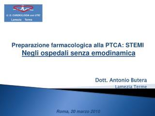 Dott. Antonio Butera Lamezia Terme