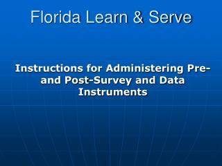 Florida Learn & Serve