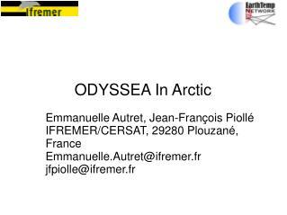 ODYSSEA In Arctic