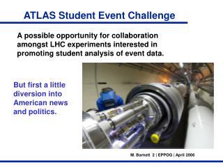 ATLAS Student Event Challenge