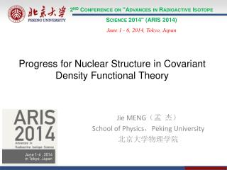 "2 nd  Conference on ""Advances in Radioactive Isotope Science 2014"" (ARIS 2014)"