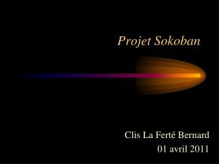 Projet Sokoban