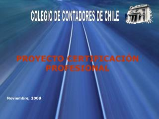 PROYECTO CERTIFICACI�N PROFESIONAL