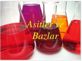 Asitler ve Bazlar