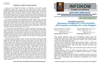 Santo-Santa 1 November HARI RAYA SEMUA ORANG KUDUS