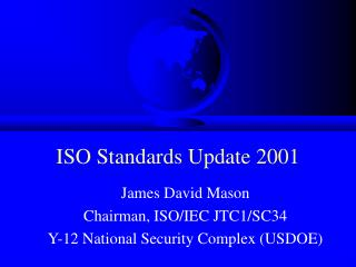 ISO Standards Update 2001