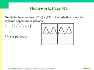 Homework, Page 411