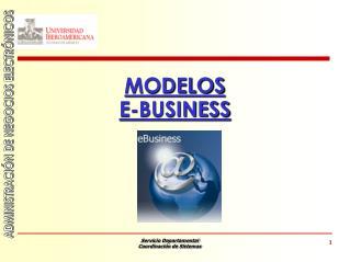 MODELOS E-BUSINESS