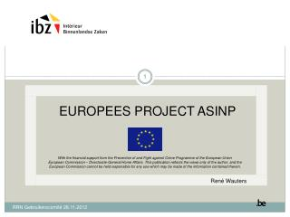 EUROPEES PROJECT ASINP