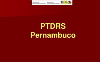 PTDRS Pernambuco