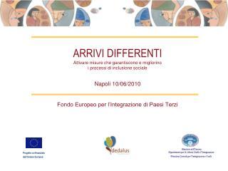 Fondo Europeo per l�Integrazione di Paesi Terzi