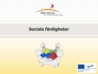 Social a färdigheter