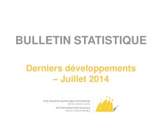 BULLETIN STATISTIQUE