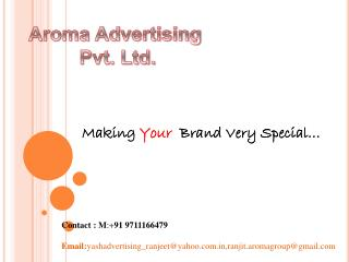 Making  Your   Brand Very Special…