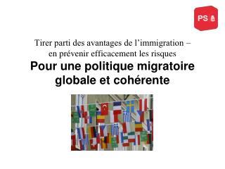 Pourquoi un débat sur la politique migratoire ?