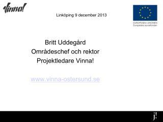 Linköping 9 december 2013