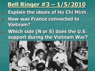 Bell Ringer #3  – 1/5/2010