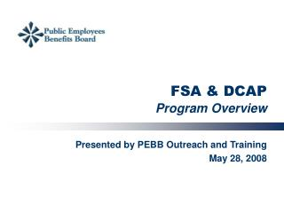 FSA & DCAP Program Overview