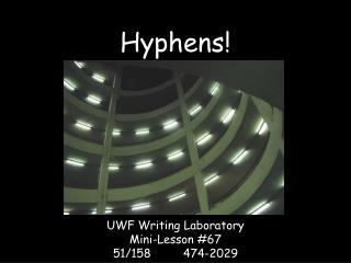Hyphens!