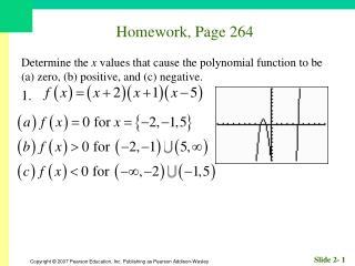 Homework, Page 264
