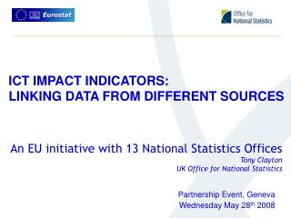 ICT IMPACT INDICATORS: LINKING DATA FROM DIFFERENT SOURCES