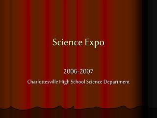 Science Expo