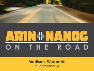Madison, Wisconsin 9 September14