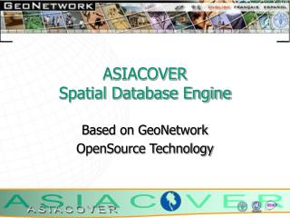 ASIACOVER Spatial Database Engine
