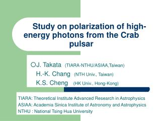 Study on polarization of high-energy photons from the Crab pulsar