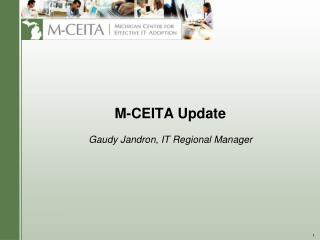 M-CEITA Update