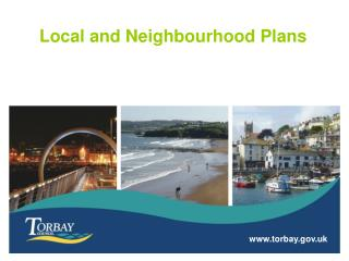 Local and Neighbourhood Plans