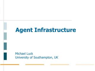 Agent Infrastructure