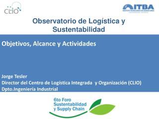 Observatorio de Logística y Sustentabilidad