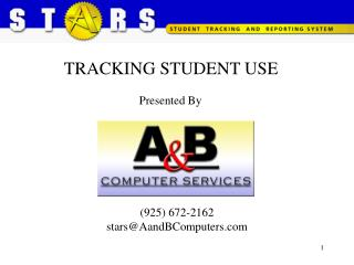 TRACKING STUDENT USE